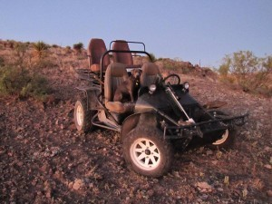 Aoudad Hunting - Dune Buggy
