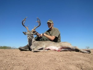 Texas Deer Hunting - And another one down