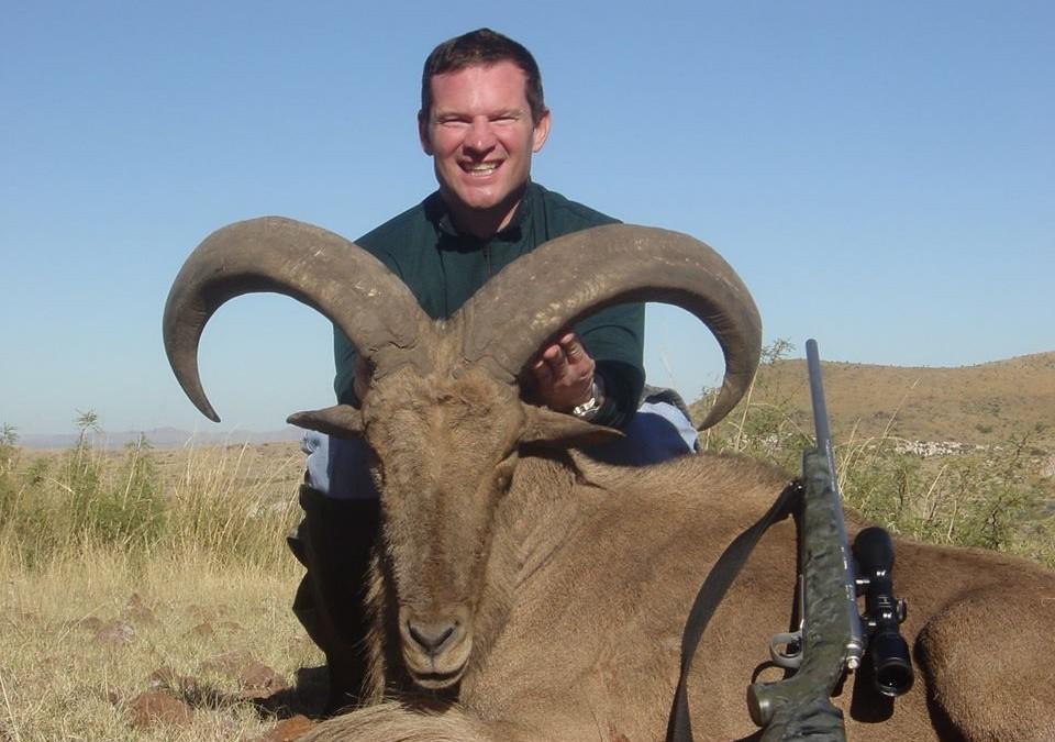 Brad's Aoudad Sheep Hunting Trip
