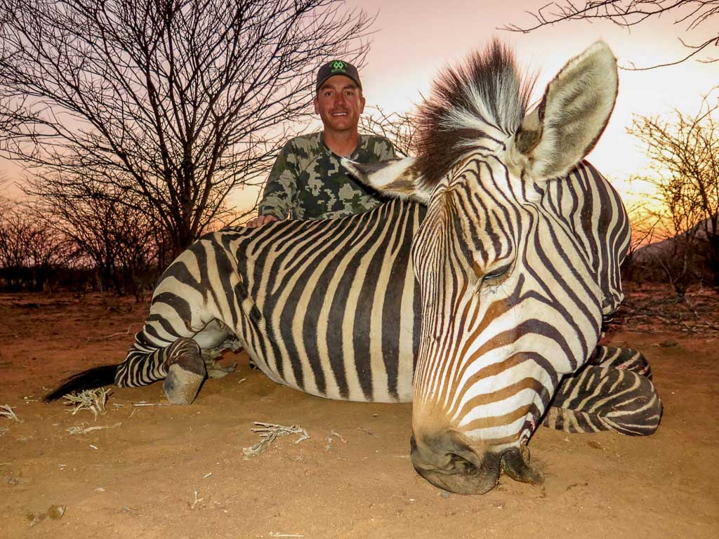Wes Mundy Hunt Double Diamond Texas Hunting Outfitter Mountain Zebra